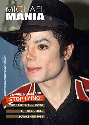 Michael Jackson magazine.