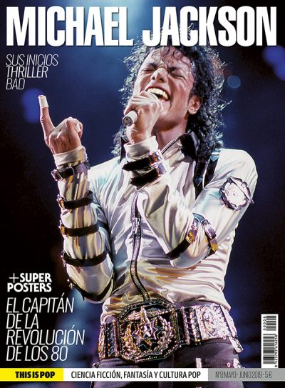Michael Jackson This Is Pop collector magazine