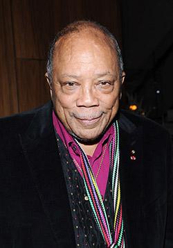 Quincy Jones uscita pubblica.